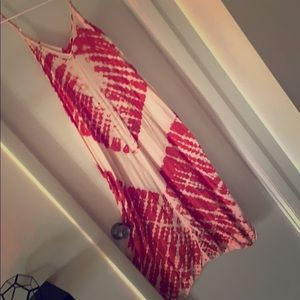 Red Tie Dye Maxi